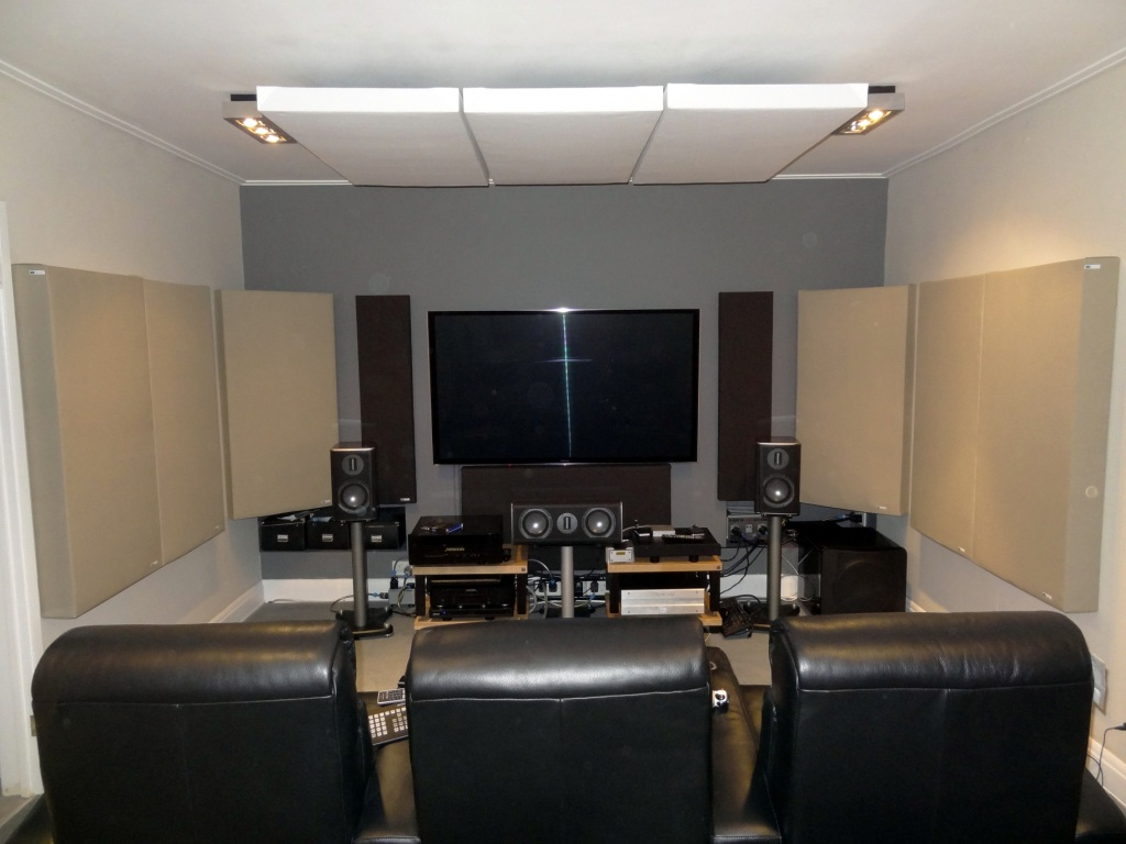 how to make acoustic panels for home theater