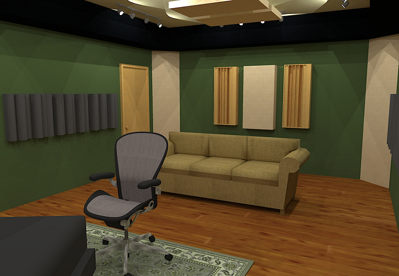 GIK Acoustics Room Layout