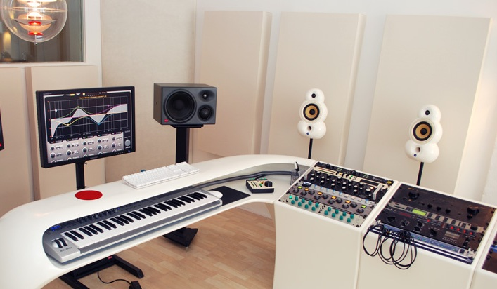 Studio with GIK Acoustic Panels