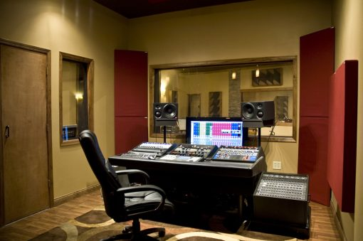 consulting acoustic panels room setup