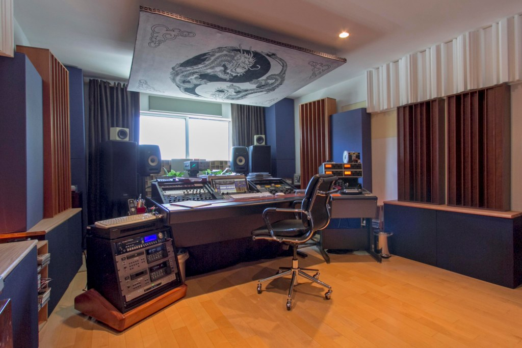 Marsh Mastering Main Studio