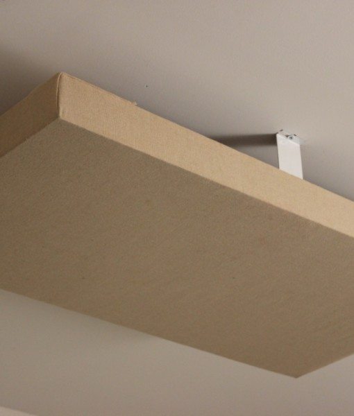 acoustic panel cloud mounting brackets