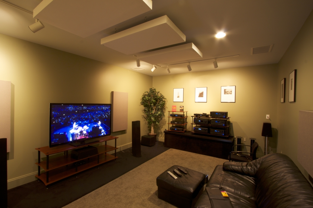Overture Audio's Studio A Photo Credit: Larry Maciag, Fulcrum Design+Build, LLC