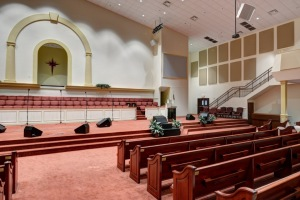 Acoustic Absorption panels church acoustics