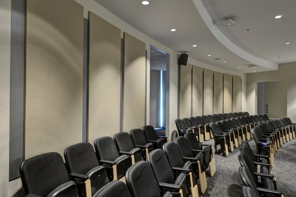 Acoustic Panels Deal More With The Mid And High Frequencies In A Room Sound Absorption Is Diffe Than Soundproofing Which Typically Used To Keep