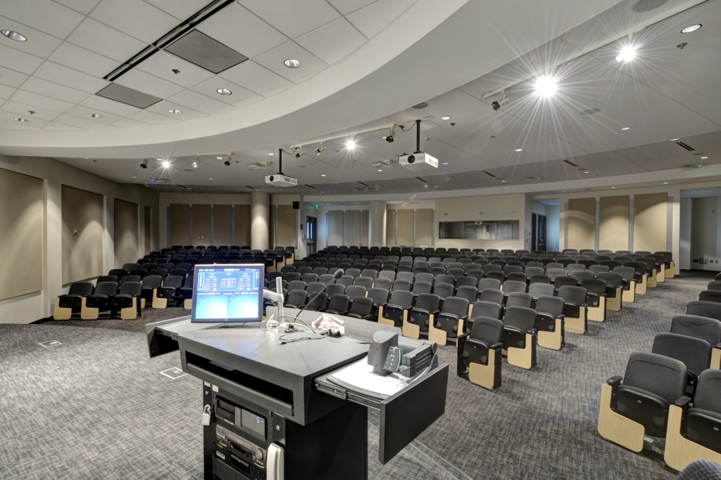 GA Tech Scheller College Business Auditorium Acoustics GIK Acoustics