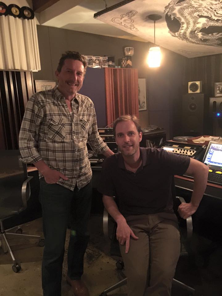 Glenn Kuras with Mastering Engineer Stephen Marsh