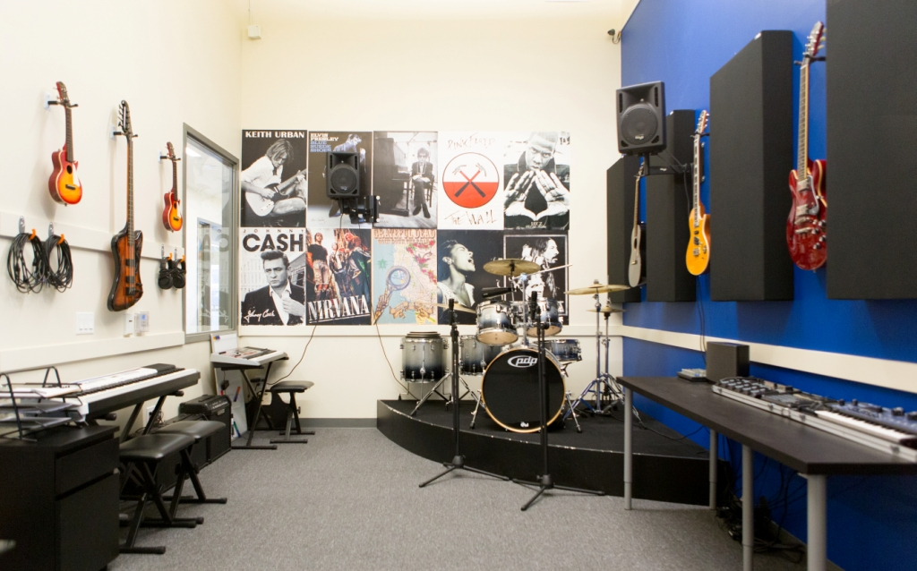 The Live Room treated with 244 Bass Traps