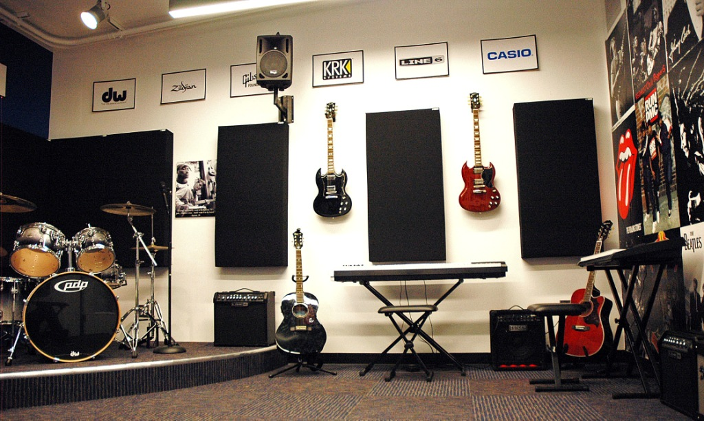 N4N Ventura Live Room Side GIK Acoustics