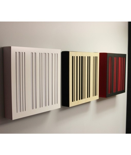 Alpha Series absorber diffusor square bass traps size in different colors by GIK Acoustics