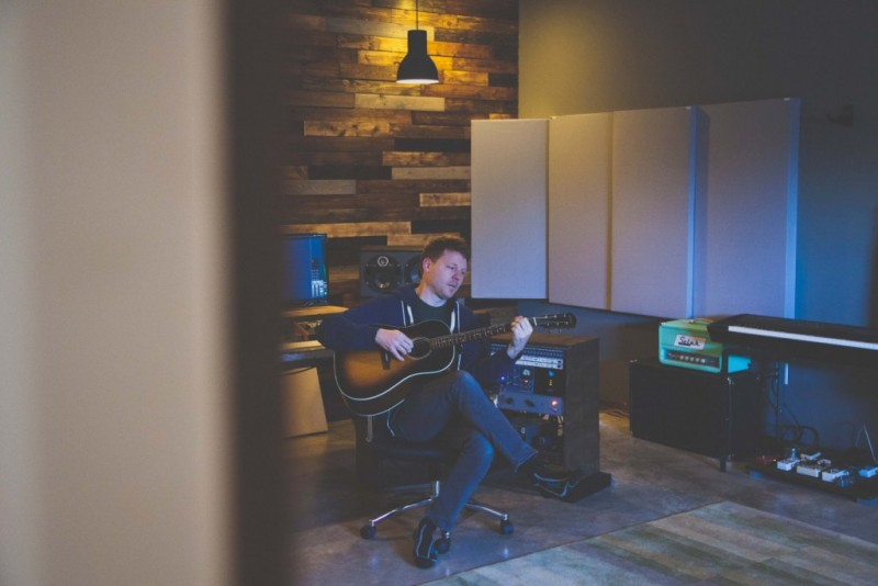 Jason Miller in Red Barn Studio GIK Acoustics