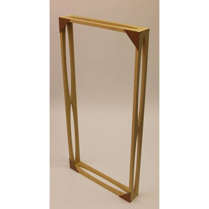 Do It Yourself Bass Trap and Acoustic Panel Frames