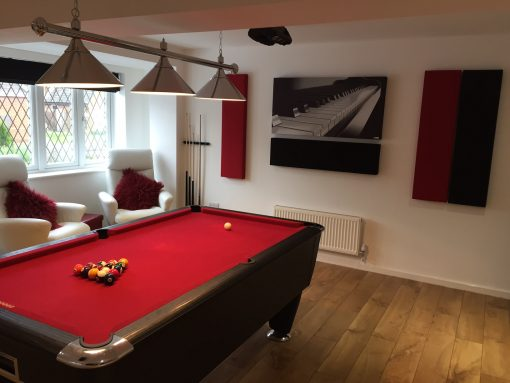 GIK Acoustics Acoustic Panel Superior Wall Acoustic Panels - Pool table side panels