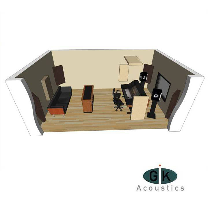 Acoustic Room Kit #1 by GIK Acoustics