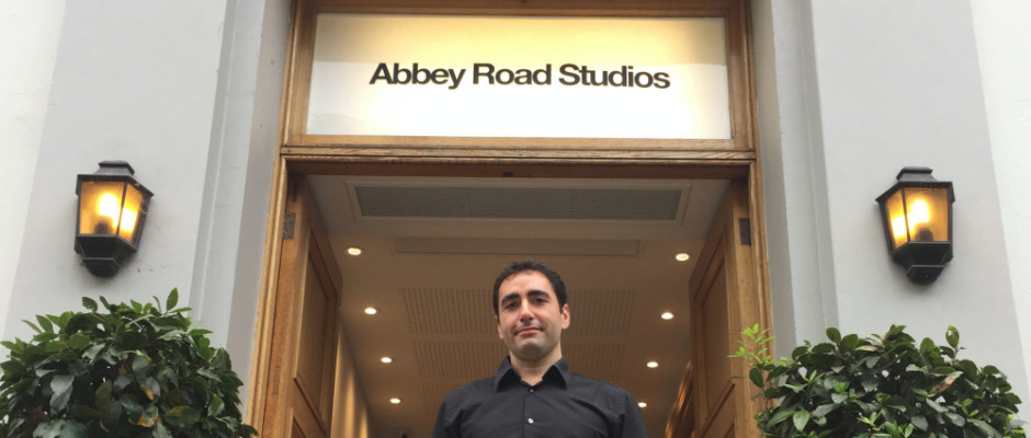 Abbey Road Institute Main Entrance Luca Barassi, Managing Director of Abbey Road Institute.