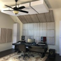 Home Recording Studio Ideas GIK Acoustics Impression Series Gray Mod GEO Gray elm Zac Marcengill