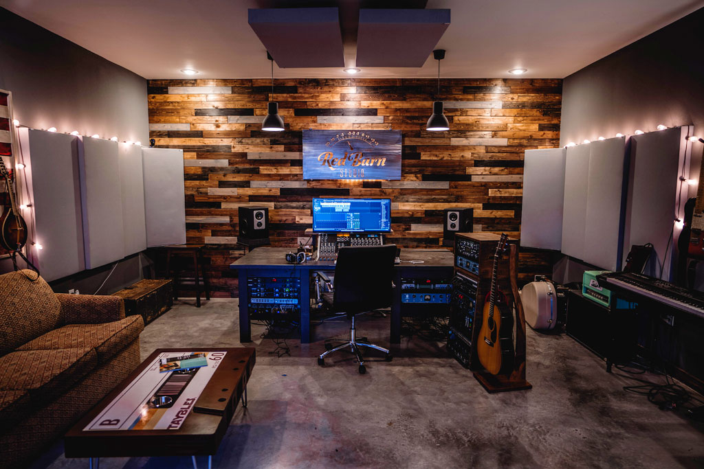 Red Barn Studio GIK Acoustics bass traps