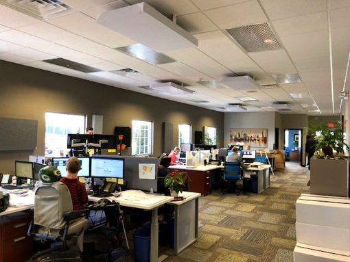 Shaun Schroeder JSA insurance Green Bay GIK Acoustic panels and ceiling clouds