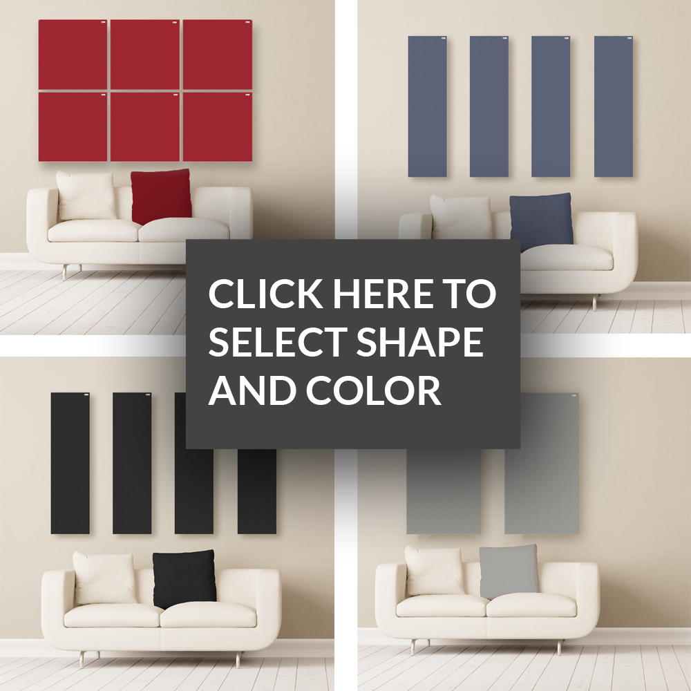 GIK Acoustics Select Your Shape and Fabric Color