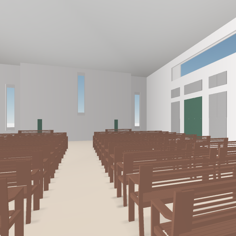 GIK Acoustics Church Acoustics Plan interior