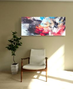 Affordable galllery quality sound absorbing canvas prints in residential or office